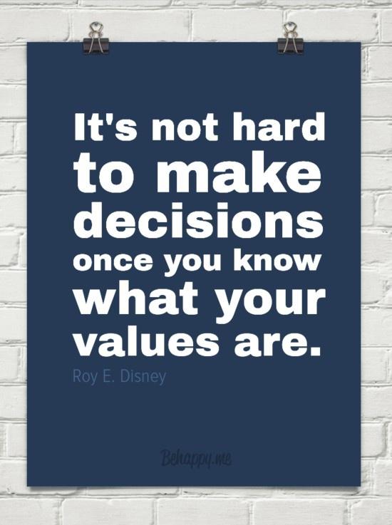 decision-values
