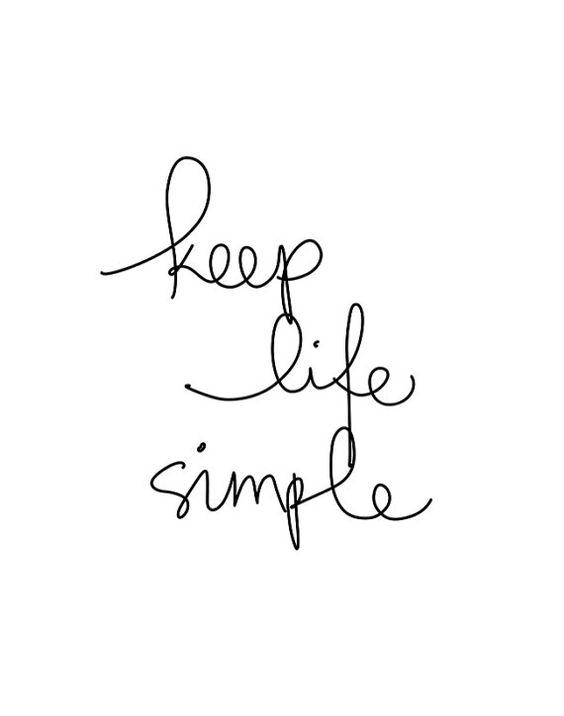 keeplifesimple